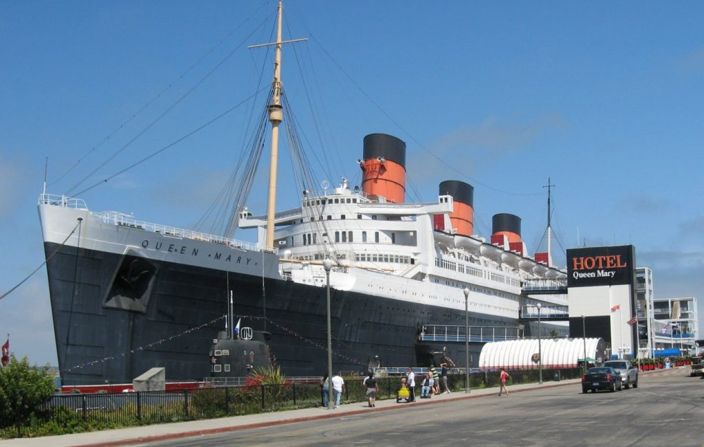 Queen Mary at Long Beach 2010