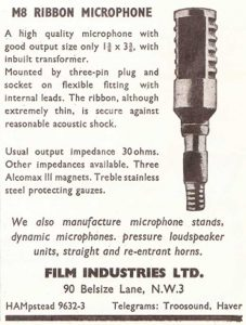 Film Industries mic ad