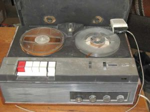 Phillips EL3558 tape recorder