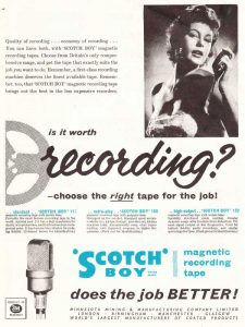 Scotch tape advert