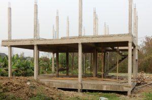 Chiang Mai house frame