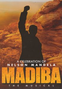Madiba, the Musical, programme cover