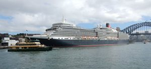 Queen Elizabeth at Circular Quay