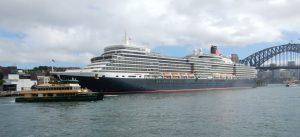 Queen Elizabeth at Circular Quay