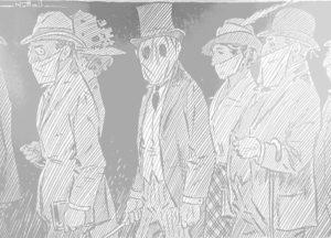 1919 flu pandemic cartoon