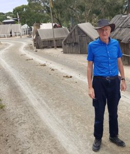A near deserted Sovereign Hill, 18 March 2020