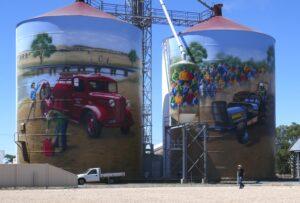 Colbinabbin silo art