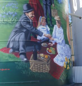 Colbinabbin - Farmers picnic (close-up)