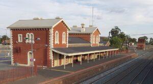Echuca railway station