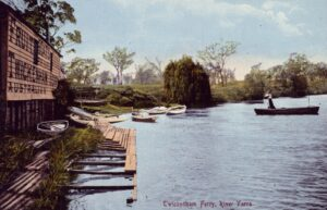 Twickenham Ferry postcard c.1907