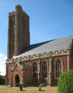 Cannington parish church